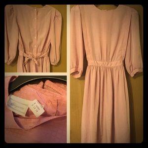 Pink dress- vintage size 13/14